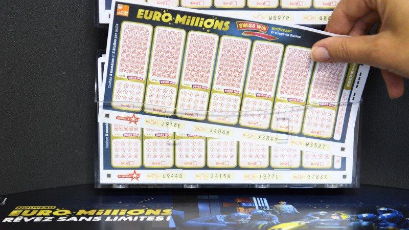 Euro Millions: personne ne trouve la bonne combinaison, 44 millions de francs en jeu