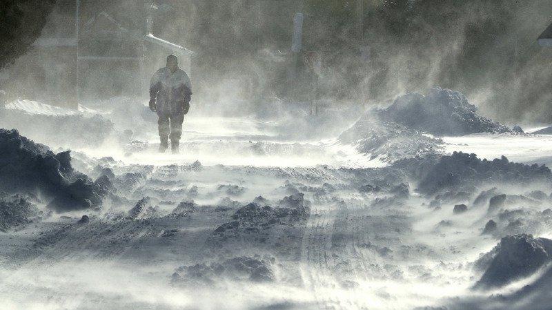 Le nord-est de l'Amérique paralysé par une vague de froid extrême