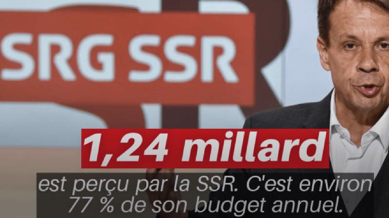 La redevance rapporte au total 1,37 milliard de francs.