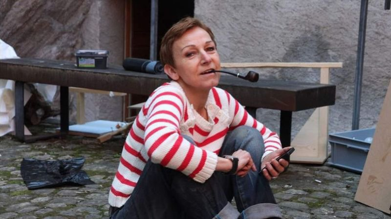 Marie-Antoinette Gorret, plasticienne.