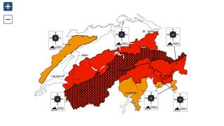 Danger d'avalanche : le degré 5 vient d'être décrété dans le canton du Valais