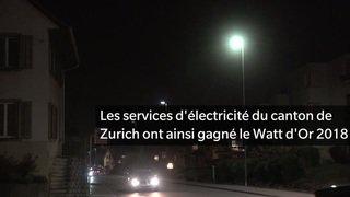 Le Watt d'Or 2018 décerné à l'entreprise d'électricité de Zurich