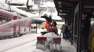 Grisons: perturbation du trafic ferroviaire à Davos où se tient le WEF