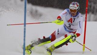 Ski alpin: le Valaisan Daniel Yule s'offre une 3e place à Kitzbühel