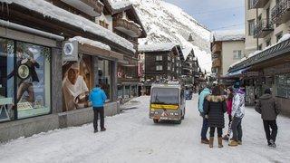 Zermatt n'est plus accessible