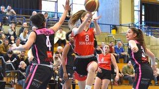 Sion Basket sorti avec les honneurs en coupe de Suisse