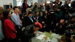 Les Catalans votent pour leur avenir