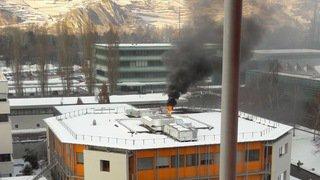 Sion: une fuite toxique à l'origine d'un fort dégagement de fumée à l'Institut central des hôpitaux (ICH)