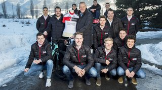 Cyclisme: l'équipe U23 IAM Excelsior veut mener ses jeunes au professionnalisme