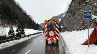 Dès 9 h ce mardi, la circulation sera à nouveau autorisée entre Somlaproz et La Fouly