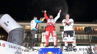 Ice Cross Downhill: Anaïs Morand et Derek Wedge triomphent à Crans-Montana