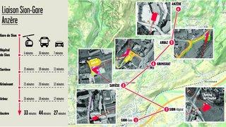 Un projet de télécabine entre Sion et Anzère voit le jour