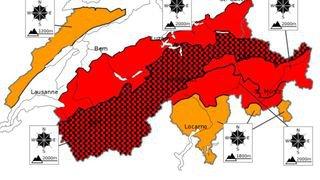 Intempéries: le Valais s'attend à vivre un lundi extrêmement tendu