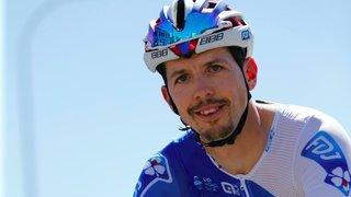 Cyclisme: Steve Morabito chute, se luxe l'épaule et repart
