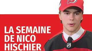 Retrouvez les faits marquants de la semaine du jeune hockeyeur valaisan de NHL Nico Hischier