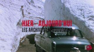 Archives en mouvement: le Simplon sous la neige