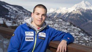 Le Nendard Théo Gmür prépare les Jeux paralympiques à Veysonnaz