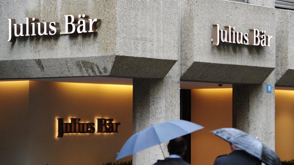Parmi les gestionnaires de fortune ayant franchi le pas, Julius Baer est cité en exemple.