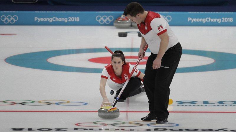 JO 2018 - Curling mixte: la Suisse entame son tournoi par unevictoire