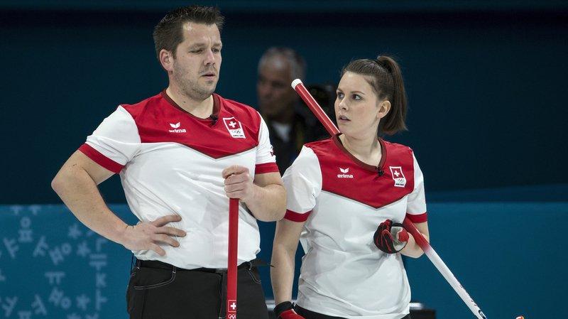 Le duo suisse formé de Jenny Perret et Martin Rios repart avec la médaille d'argent.