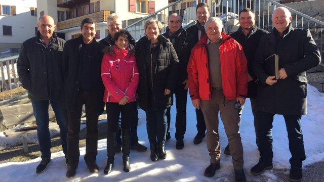 Sion 2026: les présidents des communes du district de Sion soutiennent la candidature