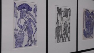 La Collection de l'Art brut à Lausanne expose Ernst Kolb