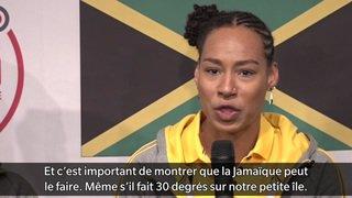 JO 2018: La sémillante équipe féminine de bobsleigh jamaïcaine s'est entraînée en Suisse