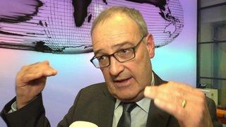 Armée: interview de Guy Parmelin sur les objectifs budgétaires