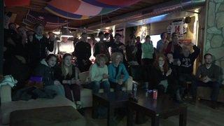 JO 2018: les fans de Fanny Smith en ébullition à Villars