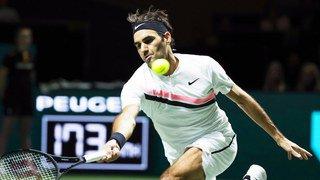Tennis: Federer bat Bemelmans à Rotterdam et n'est plus qu'à 2 victoires de la place de n°1