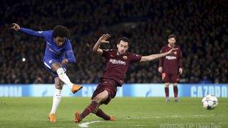 Football - Ligue des champions: Barcelone accroche Chelsea à domicile, le Besiktas explose à Munich