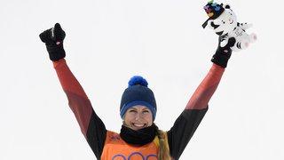 LIVE JO 2018 - Skicross: la Vaudoise Fanny Smith décroche la médaille de bronze!