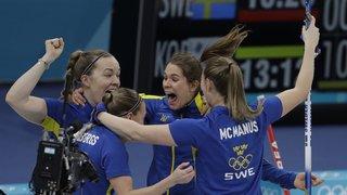 JO 2018: curling dames - la Suède prive la Corée du Sud de l'or