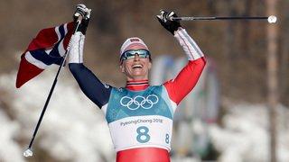 JO 2018 - ski nordique: la Norvégienne Björgen au sommet de l'Olympe