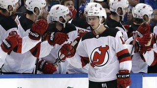 Hockey sur glace: un Nico Hischier flamboyant poursuit sa route étoilée en NHL