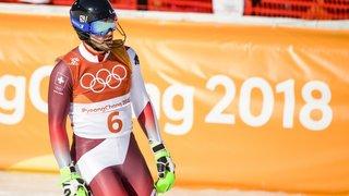 Luca Aerni veut  corriger le tir en slalom