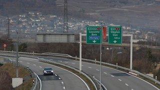 A9 et A21 Martigny: fermetures nocturnes pour de nouveaux portiques de signalisation