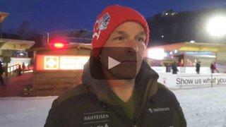 JO: Jacques Meillard évoque les chances de son fils, Loïc, avant le slalom