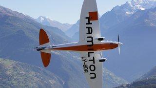 L'avion du futur se prépare à Sion