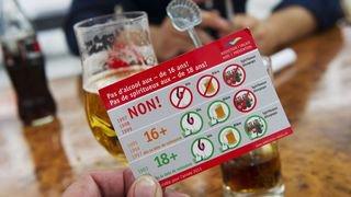 43% des commerces valaisans testés ont vendu de l'alcool aux mineurs en 2017