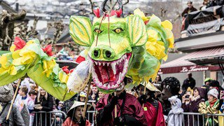 Monthey, un carnaval bestial