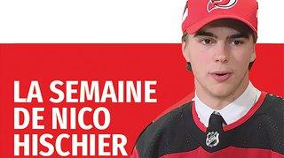 Hockey sur glace: la semaine de Nico Hischier