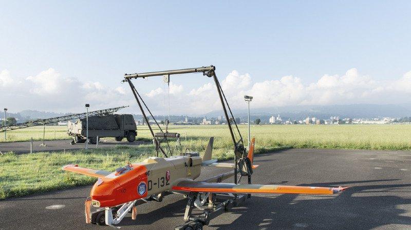 Zoug: un drone de l'armée suisse s'écrase lors d'un exercice