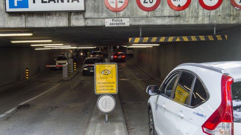 Sion: nettoyage de printemps pour les parkings souterrains