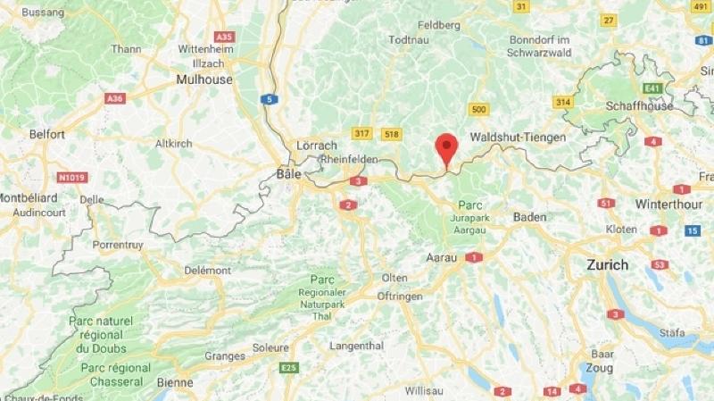 Suisse: un séisme de magnitude 3,1 a secoué le nord du pays
