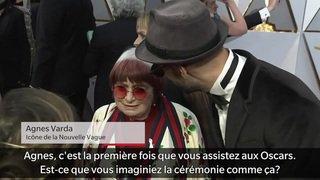 A 89 ans, Agnes Varda assiste pour la première fois aux Oscars