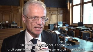 Juges étrangers: le Conseil des Etats rejette l'initiative