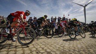 Cyclisme: le Belge Michael Goolaerts dans un état grave après une chute lors du Paris-Roubaix
