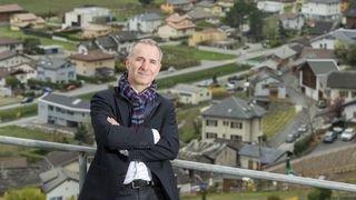 Léonard Bender, président de la SIA: «Le Valais doit être pensé comme une ville-vallée.»