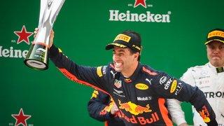 Ricciardo gagne grâce  à une bonne stratégie